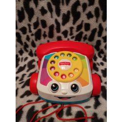 Fisher Price húzható fecsegő telefon (453)