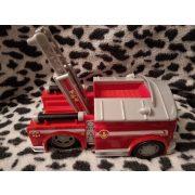 Lendkerekes elemes tűzoltóautó