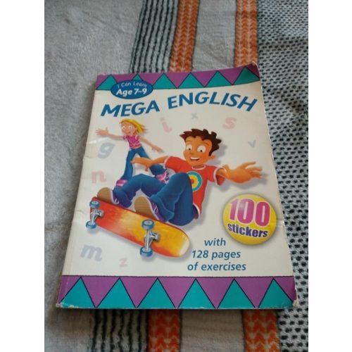 Angol nyelvű feladatos munkafüzet 7-9 éves korra