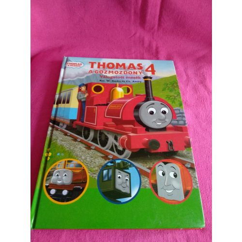 Thomas a gőzmozdony 4. válogatott mesék ÚJ