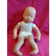 Csukott szemű baba