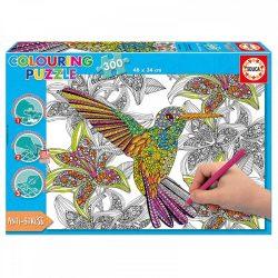 Educa Kolibri színezhető puzzle, 300 darabos