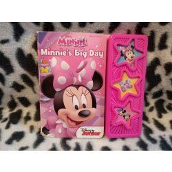 Disney Minnie egeres angol nyelvű zenélő könyv (k)