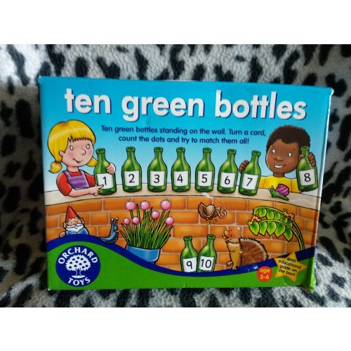 Tíz kicsi zöld üveg társasjáték