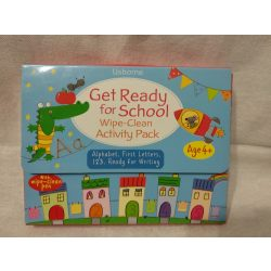 Get Ready for School : Wipe-Clean Activity Pack