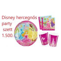 Disney hercegnős party szett