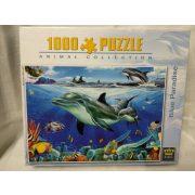 Delfines puzzle - 1000 db-os