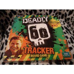 Deadly Tracker - angol nyelvű társasjáték