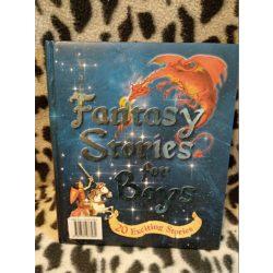 Fantasztikus történetek fiúknak - angol nyelvű mesekönyv (432)