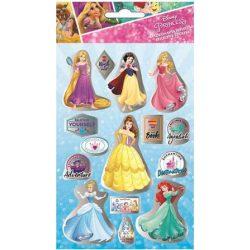 Disney hercegnős hologramos matrica 2