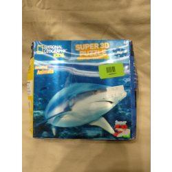 3D-s cápás puzzle/kirakó (445)