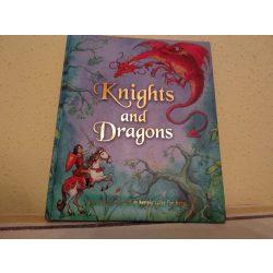A lovag és a sárkány - angol nyelvű mesekönyv