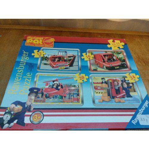 Postás Pet kirakó/puzzle 4 az 1-ben Ravensburger