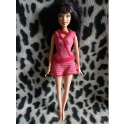 Fekete hajú Mattel Barbie baba (75)