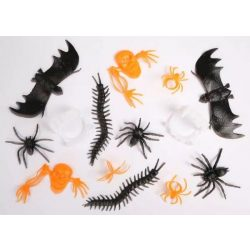 Halloween műanyag figurás szett