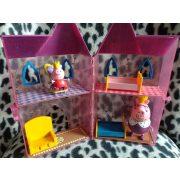 Peppa ház kiegészítőkkel + 2 figurával (75)