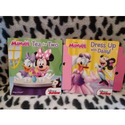 Disney Junior Miinnie egeres angol nyelvű kis könyvek (k)