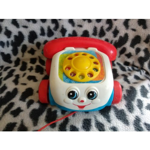 Fisher Price fecsegő telefon
