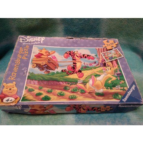 Disney Micimackós puzzle 2 x 20 db-os