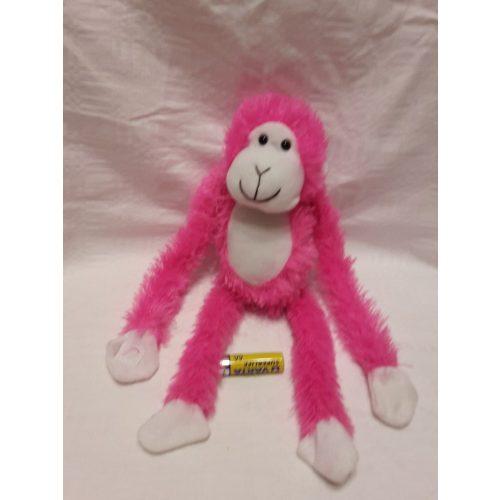 Plüss rózsaszín majom
