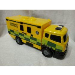 Sárga mentőautó
