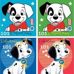 Disney 101 kiskutya arctörlő, kéztörlő 2 db egyben