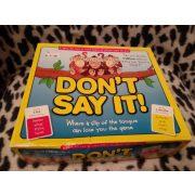 Ne szólj száj angol nyelvű társasjáték (432)