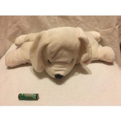 Fehér kutyus párna