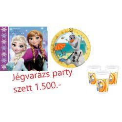 Jégvarázs party szett