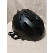 Fekete biciklis bukósisak 58-62 cm (31)