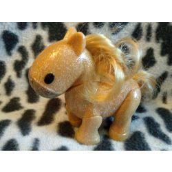 Csillogó ló figura (sz)