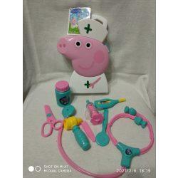 Peppa malac orvosi táska, orvosi eszközökkel (5)