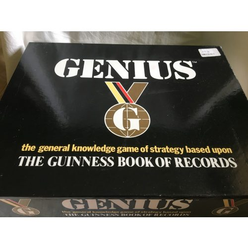 Genius General Knowledge Guinness Book of Records Game 1988 angol nyelvű társasjáték