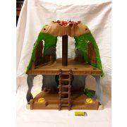 Dzsungelház játékszett figurákkal