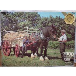 Lovas puzzle 2000 db-os