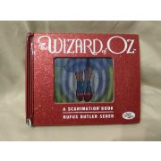 Óz a nagy varázsló angol nyelvű hologramos könyv