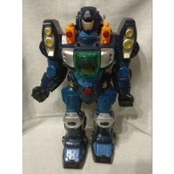 Zenélő, beszélő, világító, sétáló robot (1)