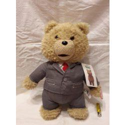 Plüss Ted címkés