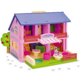 Babaházak, babaházas játékszettek
